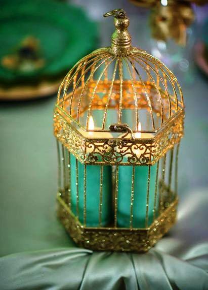 bird cage for wedding centerpiece