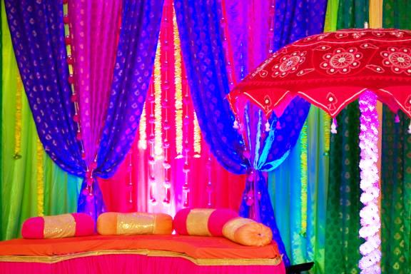 indian colourful wedding theme